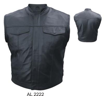 Concealed Snaps Vests